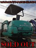 Komatsu รถขุดเล็ก, Mini excavators < 7t (Mini diggers)