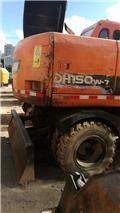 Doosan DH 150 W-7, Excavadoras de ruedas