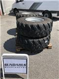 Terex TL 120, Tires, wheels and rims