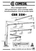 Comedil CBR 32 H-4, 2002, Önszerelő toronydaruk