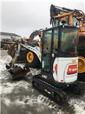 Bobcat E 20, 2017, Mini excavators < 7t (Mini diggers)