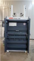 Vertikal-Ballenpresse HSM V-Press 1160 PLUS, 2013, Prasy przemysłowe