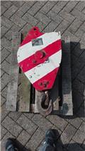 P&H 10 t Hakenflasche / Hook Block, Piese si echipamente pentru macara