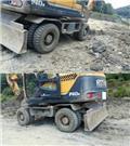 현대 Robex 140 W, 2006,  휠 굴삭기