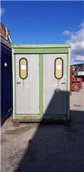 Wanto 4 x WC Wanto Slamtoalett 4dörrars, 2000, Īpaši konteineri