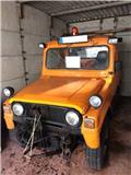Daihatsu Arbeitsmaschine Streuautomat DA 74, Vozila za prijevoz opreme za rad