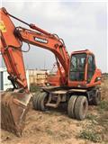 Doosan DH 210 W-7, 2010, Wheeled excavators