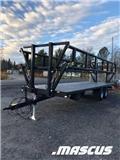 Palmse Balvagn Med Grindar B 3800 12 Ton Kampanj, 2020, Remolques para pacas