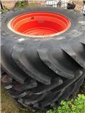 Michelin AXIOBIB/Fälgar Claas 800/70-38, Dubbele wielen