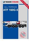 Tadano Faun ATF 160 G-5, 2007, Visureigiai keltuvai