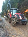 Valtra & Krono's T153 & 140 4WDM, 2014, Tractor forestal