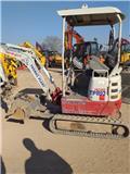 Takeuchi TB215R, 2015, Mini excavators < 7t (Mini diggers)