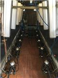 Delaval 2X6 50 graden, 2011, Milking equipment