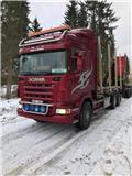 Scania R 480 LB, 2009, Log trucks