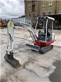 Takeuchi TB016, 2010, Mini excavators < 7t (Mini diggers)