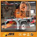JBS Small Tractor Portable Mobile Jaw Crusher Plant, 2016, Agrega tesisleri