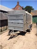 Ivor Williams TA510G-12 cattle trailer, 2003, Other trailers
