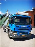 Scania P 410, 2014, Lastväxlare/Krokbilar