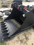 JST GS9 ØJ B150 1500mm graveskovl / 7 tænder, 2019, Buckets