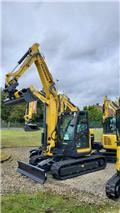 Yanmar Vio 80, 2020, Midi excavators  7t - 12t