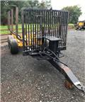 Moheda 9T Forestry Trailer, 2007, Remolques forestales