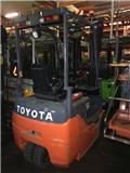 Toyota 8 FB MKT 16, 2011, Elmotviktstruckar