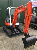 Kubota U 25-3, 2012, Mini excavators < 7t (Mini diggers)