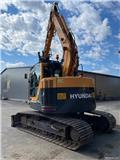 Hyundai Robex 145 LCR-9, 2014, Crawler Excavators