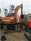 Hitachi EX 100 W D, 2010, Hjulgrävare