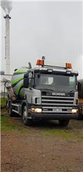 Scania BETONIERA Stetter, 2001, Betonpoleringsmaskiner