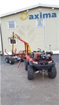 Suzuki + Kranman ekkipage 500XP och Kranman T1700, ATV