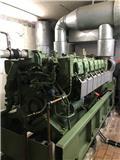MTU 12V396, 1976, Generatoare Diesel