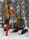 Hyundai Robex 145 LCR-9 A, 2016, Crawler excavators