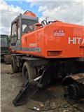 Hitachi EX 160 WD, 2003, Excavadoras de ruedas