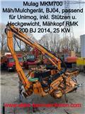 Mulag MKM 700 Randstreifenmähgerät, 2004, Overige terreinbeheermachines