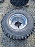 Alliance hjul, Däck, hjul och fälgar