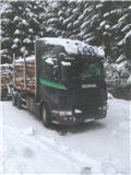 Scania timbertruck with trailer R620, 2009, Tømmerbiler