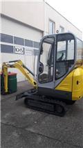 Wacker Neuson 1404, 2015, Mini excavators < 7t (Mini diggers)