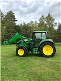 John Deere 6115 M, 2014, Tractors
