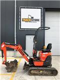 Kubota U 10-3, 2016, Mini excavators < 7t (Mini diggers)