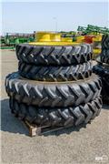 BKT Fixed row crop wheel set, 270/95R36 and 340/85R48, 2017, Двойные колёса для тракторов