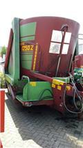 Strautmann 1250Z voermengwagen, Mixer feeders
