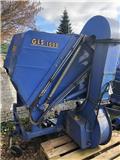 Iseki GLS 1000 H Gras- und Laubaufnahme + Iseki Mähwerk, Üzerinde durulan çim biçme makineleri