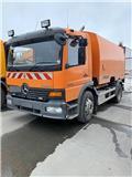 Mercedes-Benz Atego 1523, 2004, Mga sweeper trak