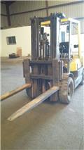 TCM FD25Z5 SECOND HAND * TRIPLEX MAST*4,8 MTS, 2003, Diesel Forklifts