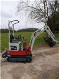 Takeuchi TB210R, 2017, Mini excavators < 7t (Mini diggers)