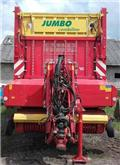 Pöttinger JUMBO 10010 D Combiline, 2013, Önrakodó pótkocsik