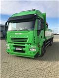Iveco STARLIS 260, 2013, Rol kiper kamioni s kukama za dizanje
