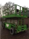 Holland Lift B 165 EL 25, 2001, Scissor Lifts