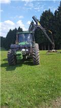 John Deere 6910, 2000, Miško traktoriai